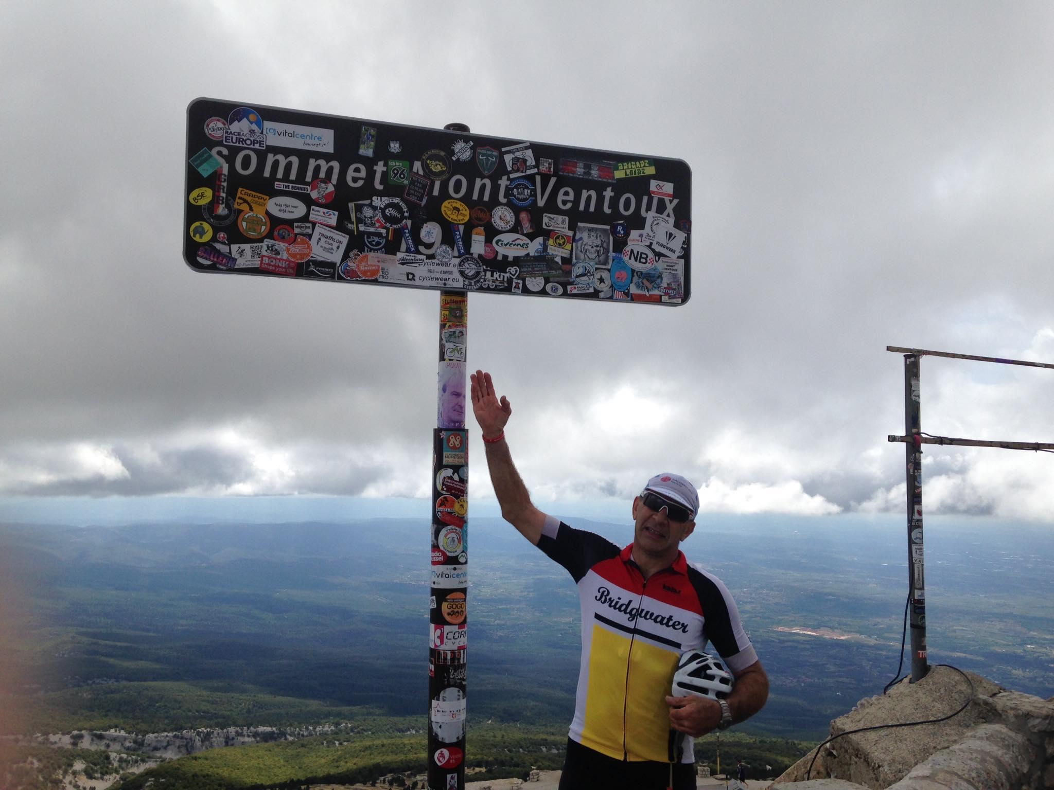 Nigel Salter Mont Ventoux